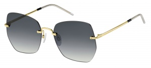 Tommy Hilfiger sunglasses TH1667/S 2F7/9O women gold with grey lens