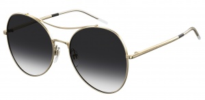 Tommy Hilfiger sunglasses TH1668/S 2F7/O ladies gold with grey lens