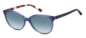 Tommy Hilfiger zonnebril TH1670/S 8CQ/TX dames blauw