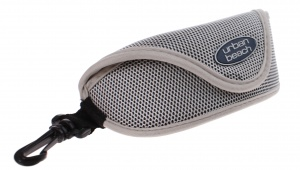 Urban Beach sunglasses case 23 x 9 cm gray
