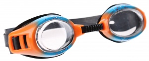 Yello Spray Goggles zwembril unisex blauw/oranje