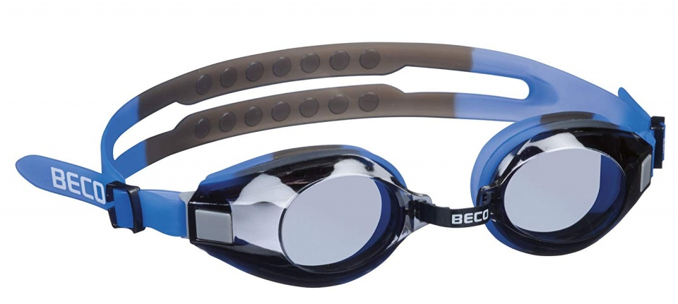 Beco swimming goggles Aricapolycarbonate junior blue/grey