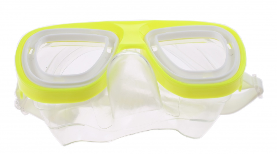Toi-Toys goggles glow in the dark yellow