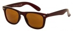 AZ-Eyewear sunglasses Classic unisex brown with brown lens (AZ-44)