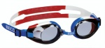 Beco swimming goggles Aricapolycarbonate junior blue/white/red